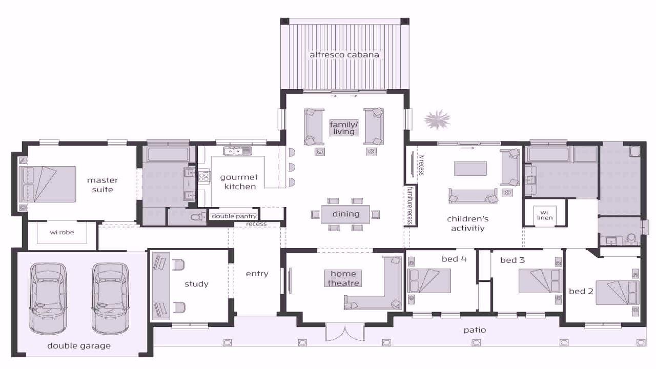 10 Bedroom House Plans With Open Floor Plan Australia Gif Maker -  DaddyGif.com (see description)