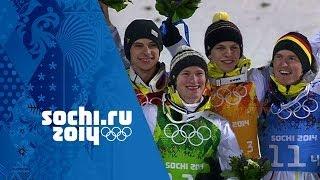 Ski Jumping - Men's Team - Germany Win Gold | Sochi 2014 Winter Olympics