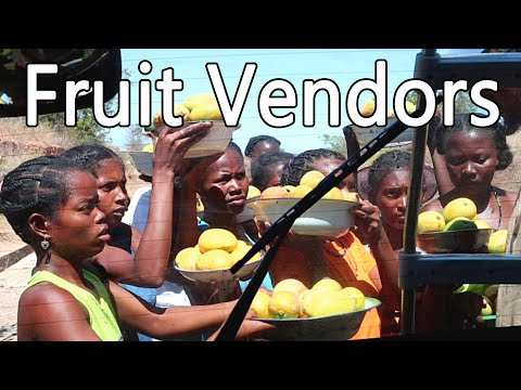 Roadside Fruit Vendors in Madagascar - Weird Fruit Explorer Ep. 382