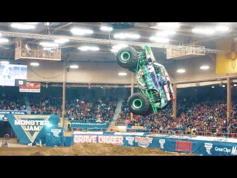 Monster Jam Albuquerque New Mexico Saturday 2-18-2017