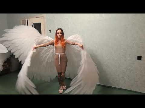 Крылья ангела для танцев и фотосессий  #ЛисьяМастерская