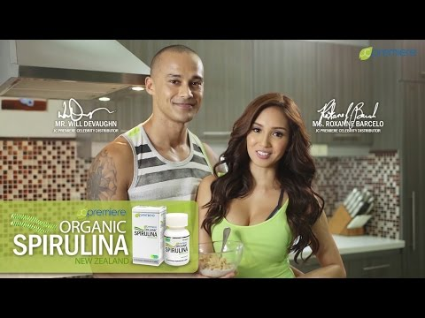 Ms. Roxanne Barcelo and Mr. Will Devaughn on Organic Spirulina