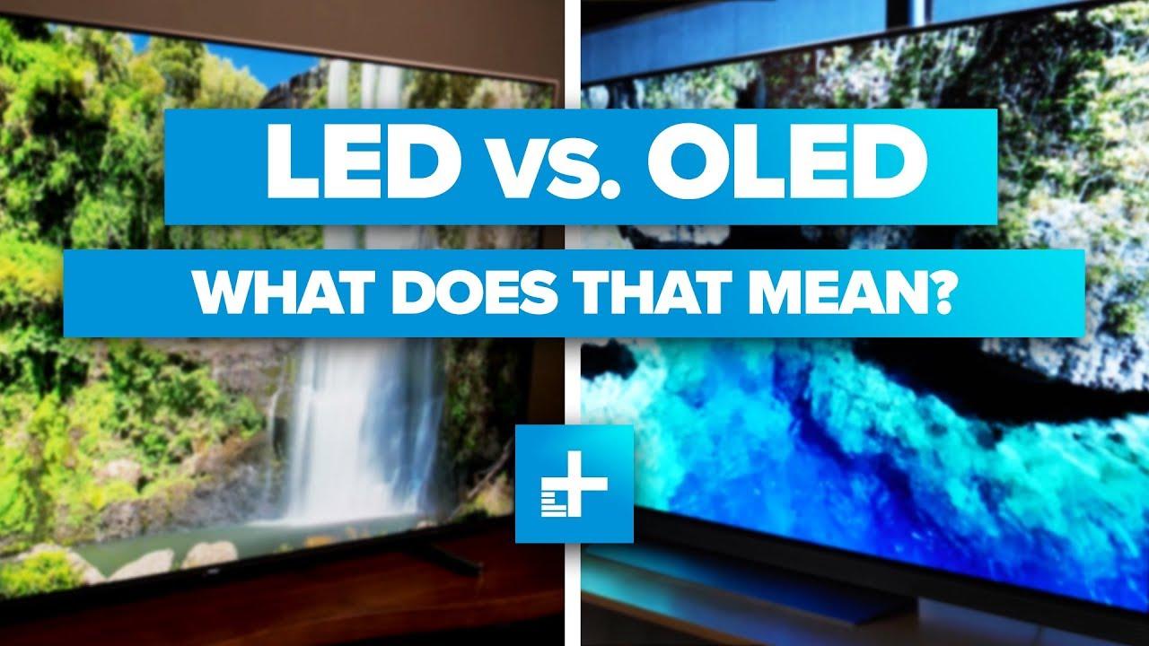 LG OLED vs. LED: Which TV reveals the stars better?