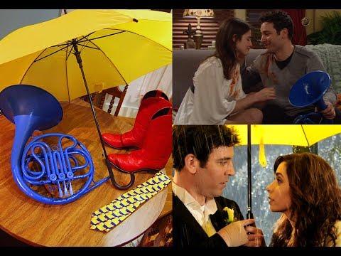 Simbología del Paraguas Amarillo, Corno Francés Azul y las Botas Rojas