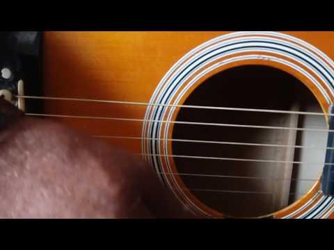 Mera dil jis dil pe fidaa hai.Guitar Tune.