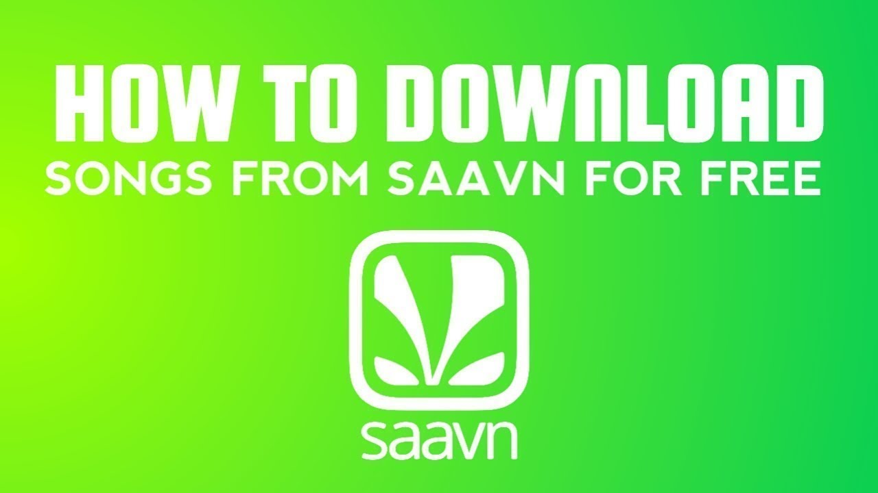 How to download songs from saavn for free