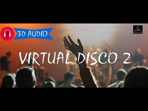 "3d audio experience | ""Virtual Disco #2"" in 3d Sound 