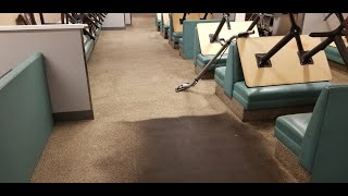 Satisfying Horrible Nasty Gooey Restaurant Carpet Coming Clean