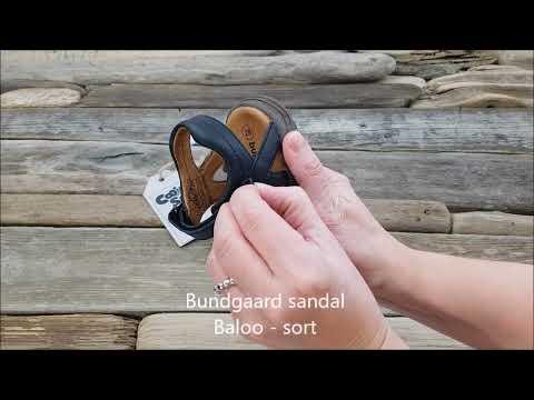 Bundgaard sandal Baloo Sort