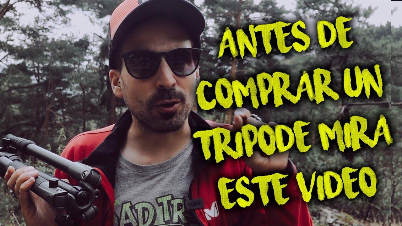 ⚠️ Qué TRÍPODE ME COMPRO para Fotografía y Vídeo? Tutorial Español