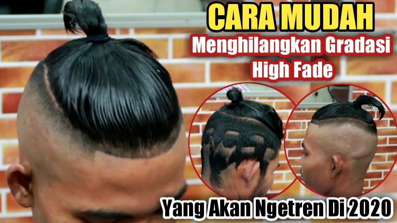 Potong Rambut Pompadour