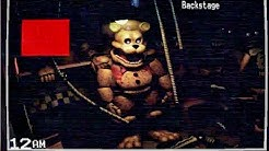 STAYING OVERNIGHT AT FREDBEARS?! FREDBEAR MOVED..   FNAF Static (Five Nights at Freddy's)