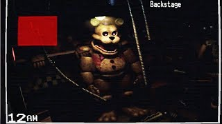 STAYING OVERNIGHT AT FREDBEARS?! FREDBEAR MOVED.. | FNAF Static (Five Nights at Freddy's)