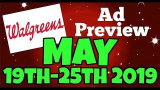 Walgreens Ad Preview Chit Chat May 19th-25th 2019
