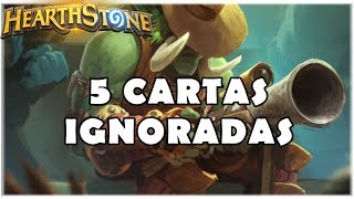 HEARTHSTONE - 5 CARTAS IGNORADAS! (RINGUE DO RASTAKHAN)
