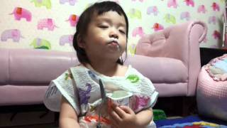 korean funniest home video cute baby my son can t stop eating a yogurt even if he is sleepy