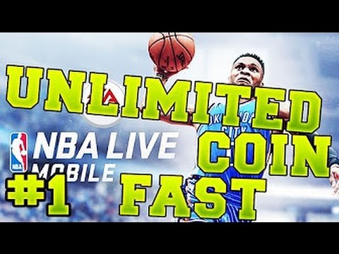 NBA live mobile hack unlimited coins and NBA Cash ios/android NEW 2017