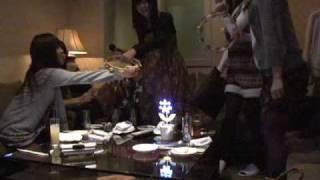 準ミス成蹊の河田祥子ちゃんがカラオケで「Whiteberry」を歌いました(7)