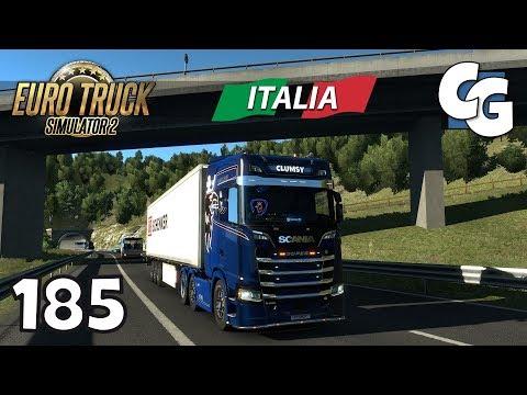 ETS2 - Ep. 185 - ProMods 2.25 & RusMap 1.7.5 - ETS2 Italia DLC Gameplay