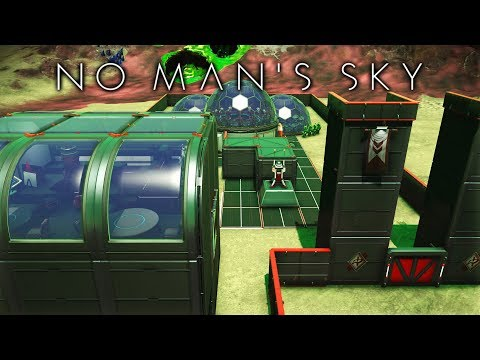 2 AMAZING PLAYER BASES IN THE GALACTIC HUB! in NO MAN'S SKY