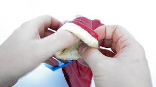 Видеообзор женских красных кожаных перчаток на плюше  от интернет-магазина