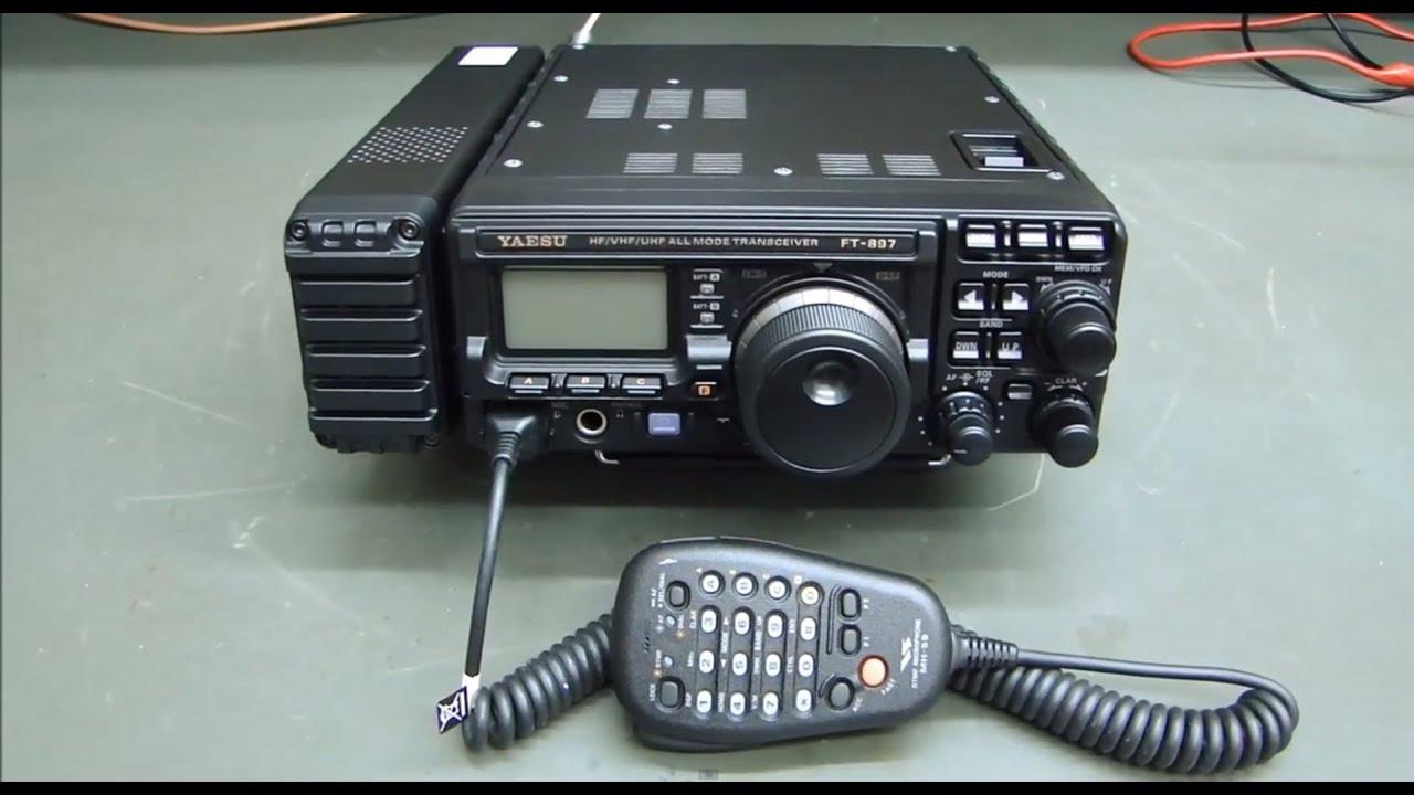 YAESU FT-897D SAÍDA VHF/UHF QUEIMADA + REVISÃO