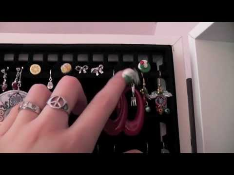Jewelry Collection + Storage!