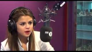 Selena Gomez Radio 1 interview 2013