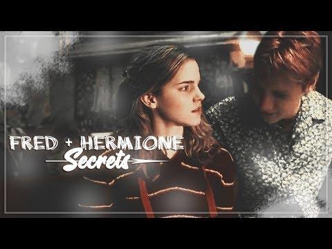 Fred + Hermione || Secrets