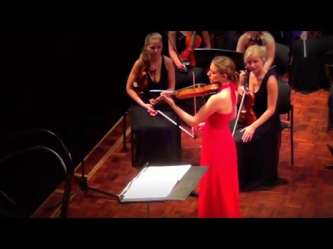 Marina Chiche plays Bach Sarabande
