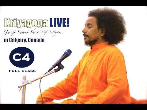 Kriyayoga LIVE 04-03-2018 7am Calgary Part 1