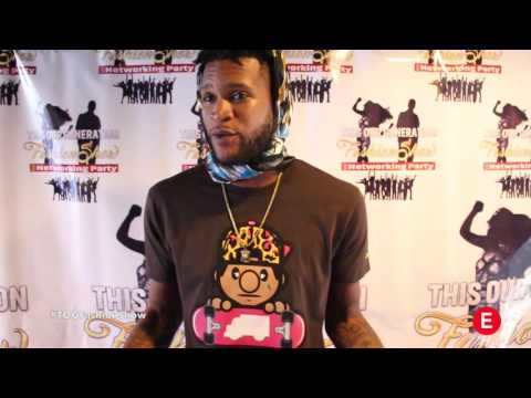 TOG Fashion Show - Wildboy Woody (Interview) 2016