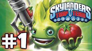 SKYLANDERS TRAP TEAM GAMEPLAY WALKTHROUGH - PART 1 - WE BEGIN!