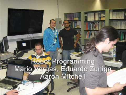 Robot Programming - Team 2, FIU Miami