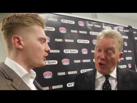 FRANK WARREN REACTS TO DEGALE LOSING WORLD TITLE,YARDE AND DUBOIS WINS,SAUNDERS,SELBY