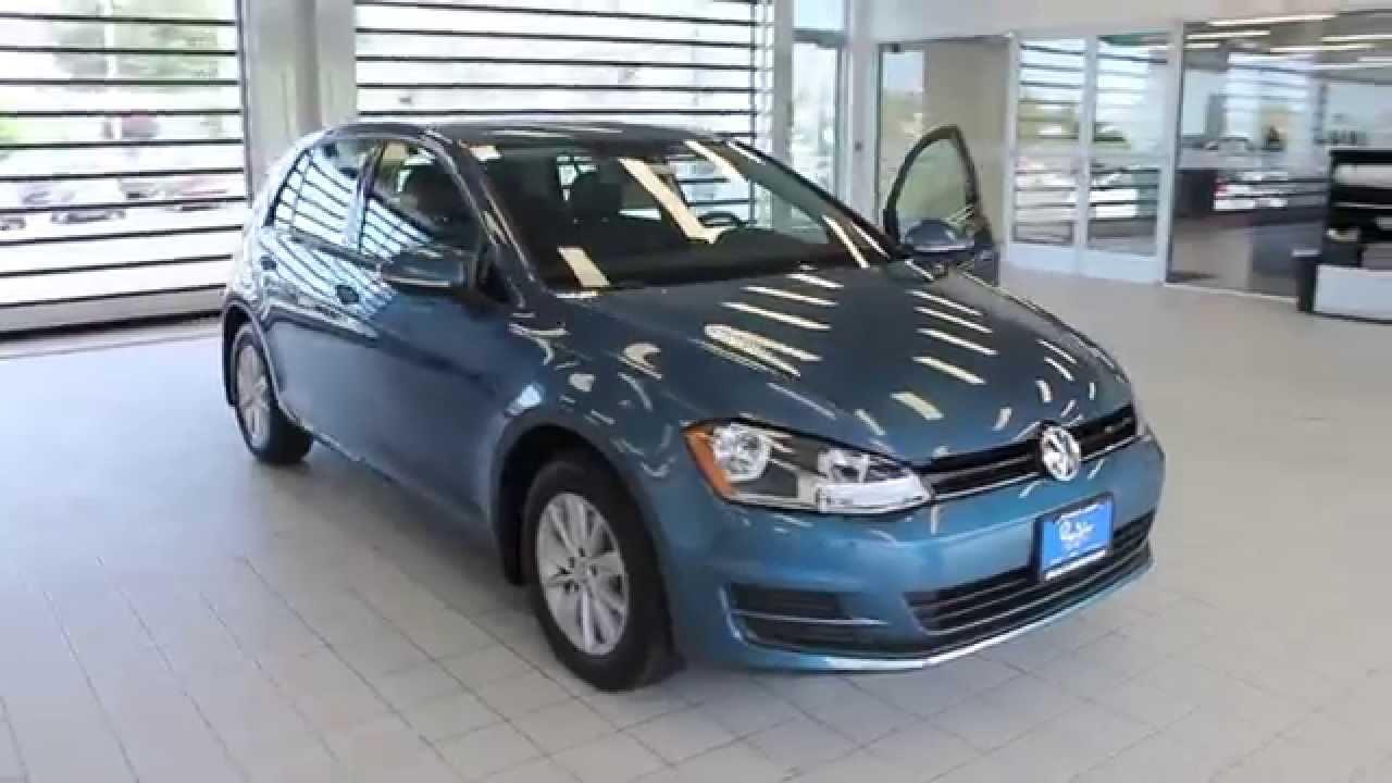 2017 Volkswagen Golf Silk Blue Metallic Stock 110524 Walk Around