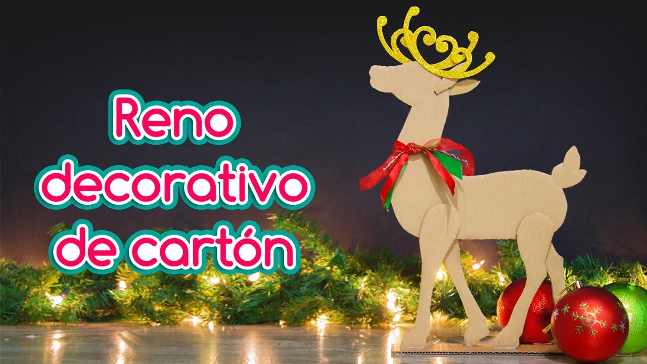 Reno navide o de cart n especial de navidad ep 2 youtube - Cosas de navidad para hacer en casa ...