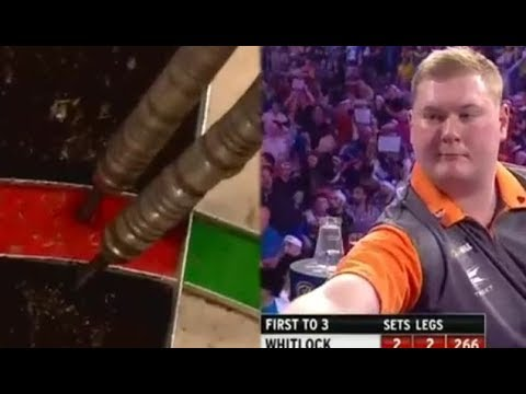 Ricky Evans SUPER FAST Scoring and Doubles - 2016 PDC World Championship