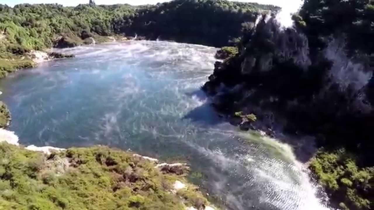 Frying Pan Lake New Zealand Youtube