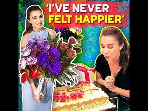 'I've never felt happier'   KAMI    Sunshine Cruz received the sweetest birthday surprises