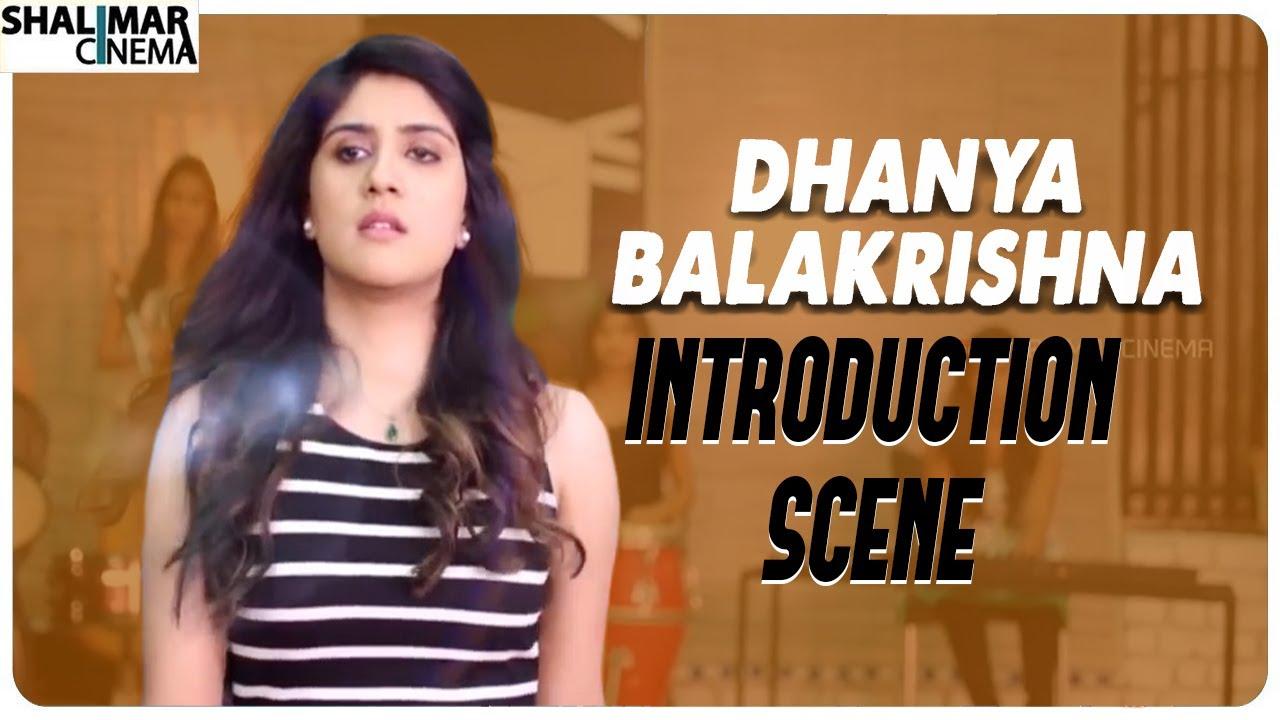 Dhanya Balakrishna Introduction Scene || Thanu Vachenanta Movie || Shalimar Cinema