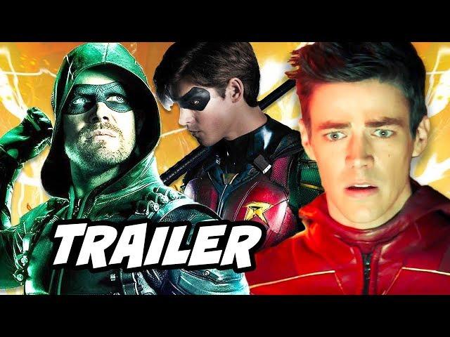 Arrow Season 6 Finale Trailer - The Flash Season 5 Crossover Teaser Explained