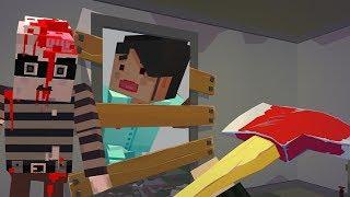 ЗОМБИ Нападение как МАЙНКРАФТ 3 Симулятор Выживания с Пиксельными зомби Побег из дома с ЗОМБИ