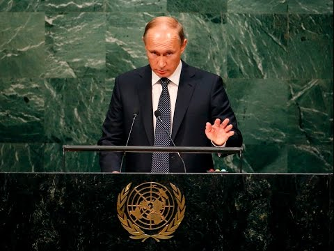 LIVE: Russian President Vladimir Putin addresses 70th session of the General Assembly