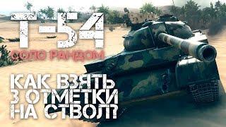 Т-54 - Как взять 3 отметки на ствол?