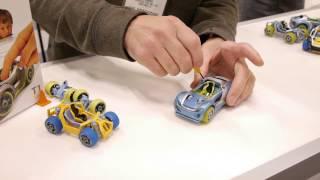 Demo Of How To Build A Modarri Toy Car