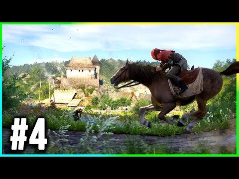 Kingdom Come Deliverance Walkthrough Part 4 Gameplay (Bandit Camp Location)