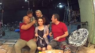 Дизель cтудио LIVE - съемки 4-5 сезона На троих, ответы на вопросы зрителей Украина
