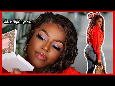 Date Night GRWM Makeup & Outfit | Carli Bybel x ABH Palette thumbnail