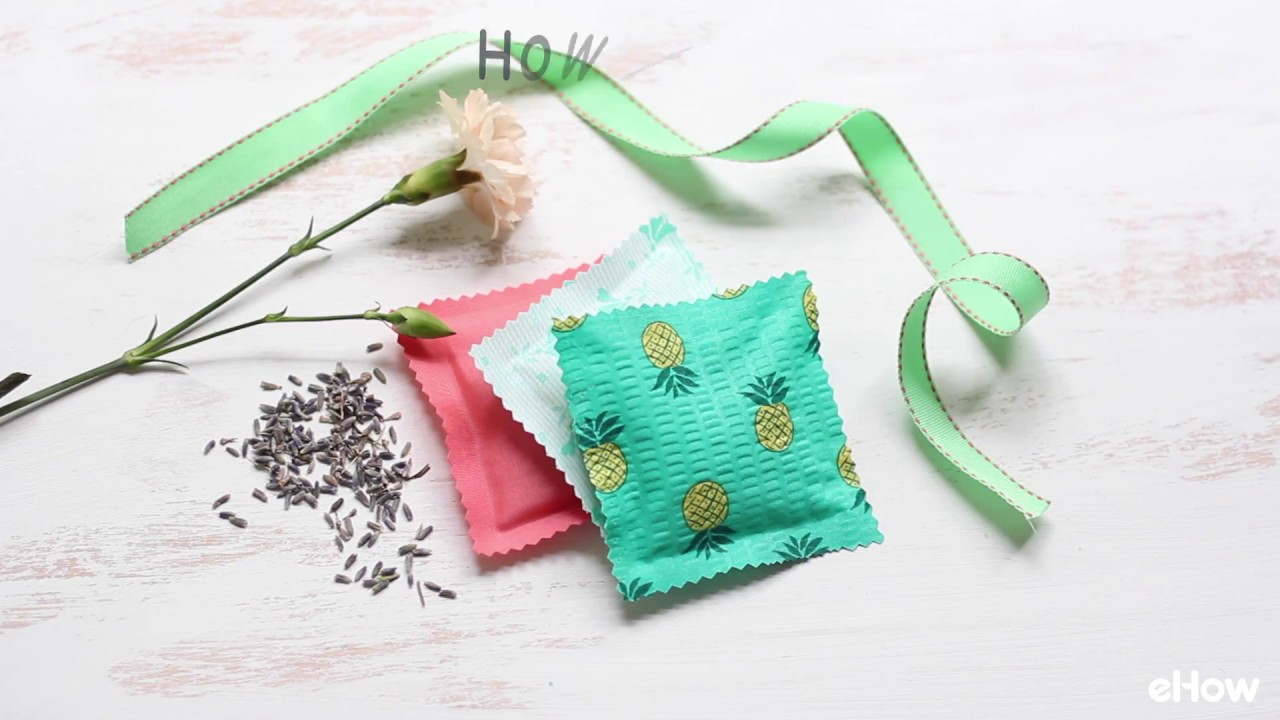 Easy to Make Fabric Sachets With Rice